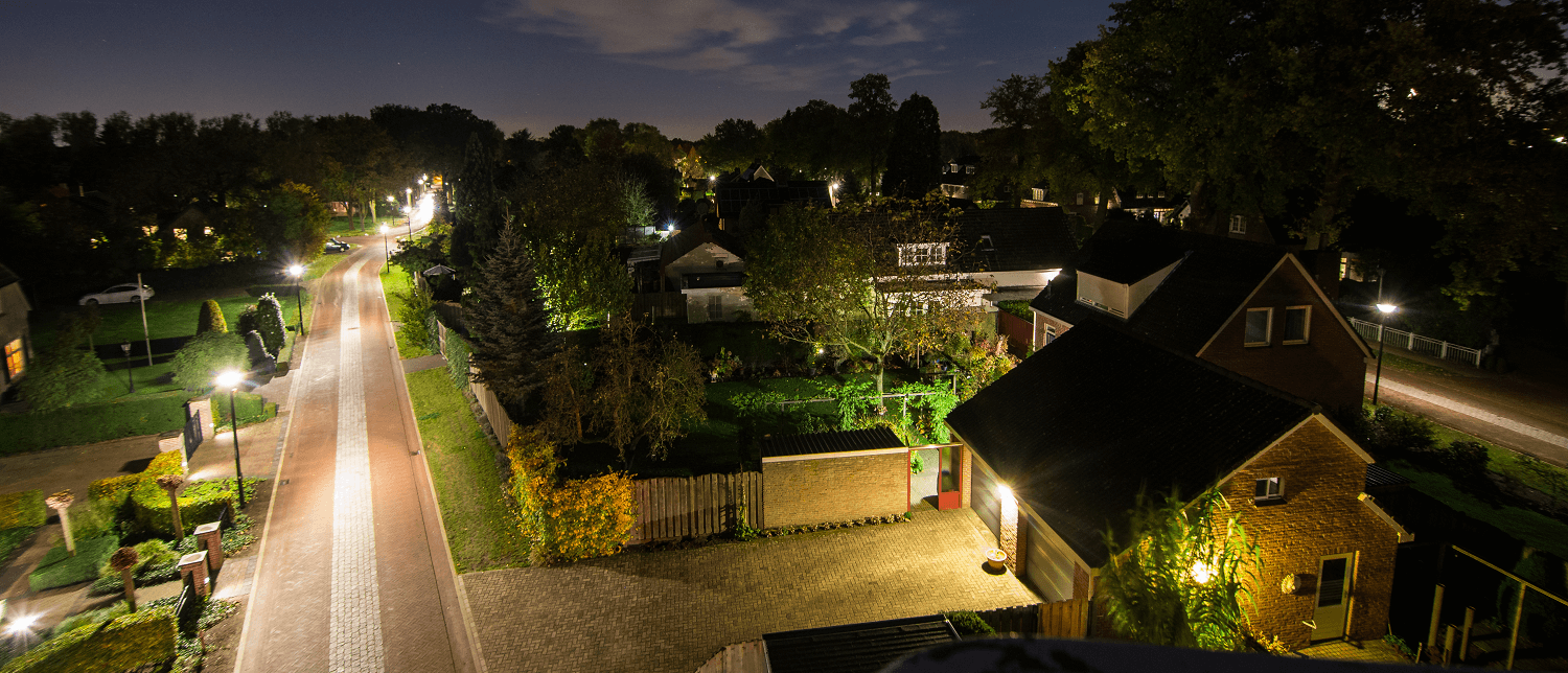 Intelligent lighting for the famous Van Gogh Village